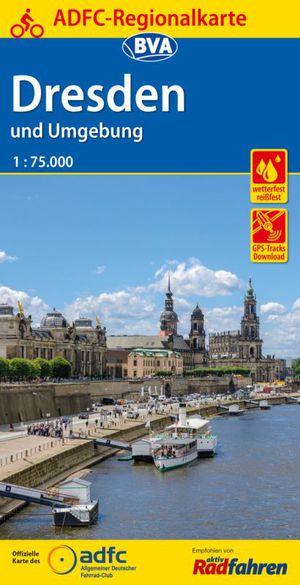 Dresden & omg. fietskaart