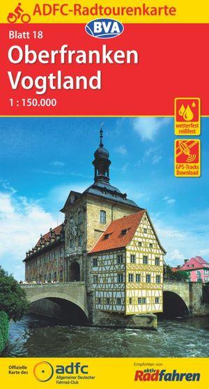 Oberfranken / Vogtland fietskaart