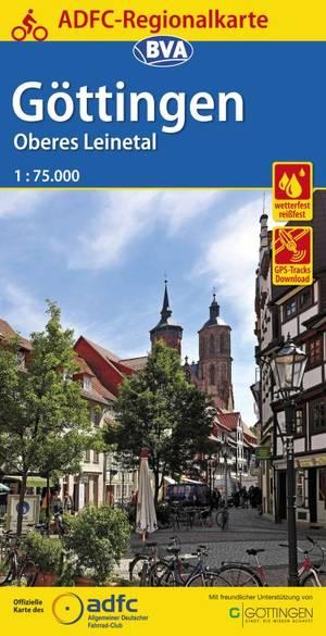 Göttingen / Oberes Leinetal fietskaart