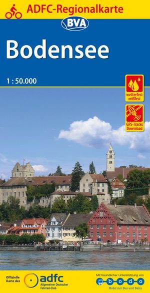 Bodensee fietskaart