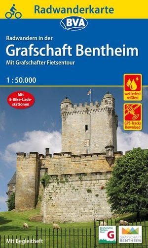 Grafschaft Bentheim fietskaart