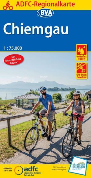 Chiemgau fietskaart