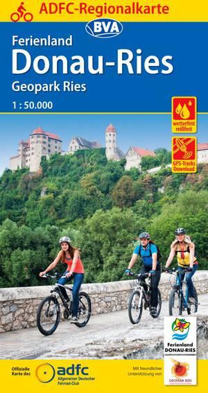 Donau-Ries Ferienland fietskaart