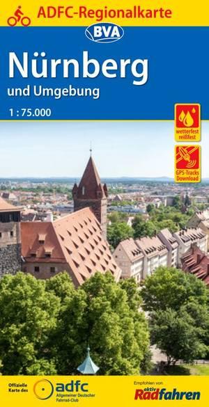 Nürnberg & omgeving  fietskaart