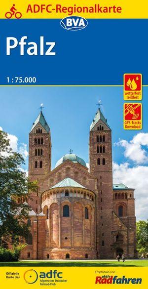 Pfalz fietskaart