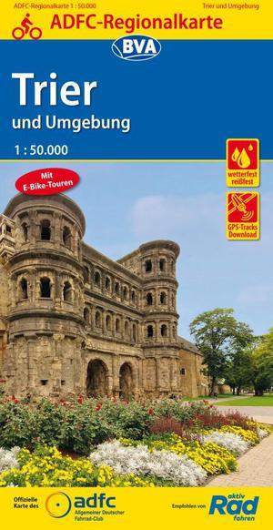 Trier & omgeving fietskaart