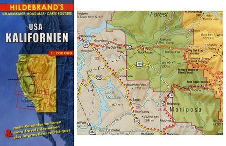 California Map 1:700.000 Hildebrand