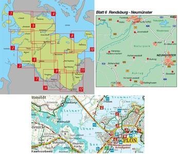 Rendsburg-neumunster 1:50.000 Sh 06