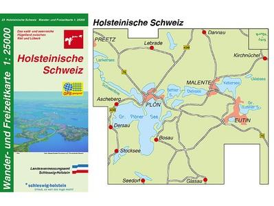 Holsteinische Schweiz 1:25.000 Sh 23