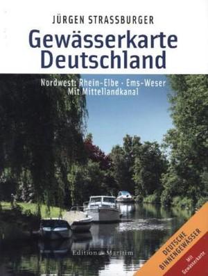 Gewasserkarte Nordwest Deutschland Marit