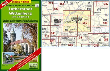 Lutherstadt Wittenberg U.u. 1:50.000
