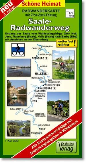 Saale Radwanderweg 1:50.000 Dr. Barthel
