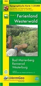 Fw2 Ferienland Westerwald 1:25.000