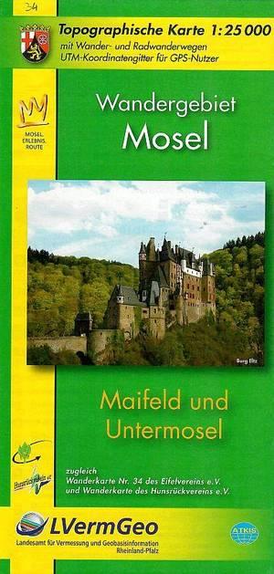 Ev34 Maifeld Und Untermosel 1:25.000