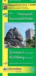 Sn1 Soonwald-nahe 1:25.000 Simmern