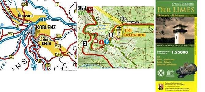 Lms Limes, Rheinbrohl-holzhausen 1:25000