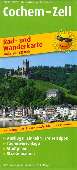 Cochem Zell 097 Bicycle Hiking Map Gps