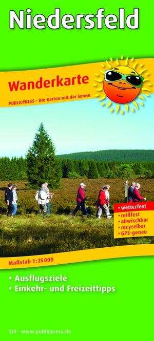 Niedersfeld 124 Hiking Map Gps