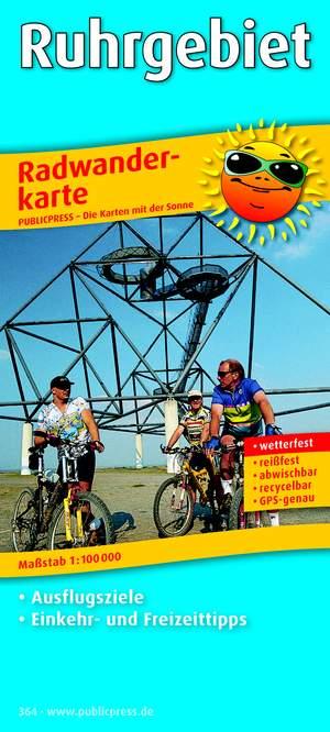 Ruhr Region 364 Bicycle Map Gps