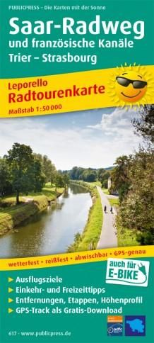 Saar-Radweg und französische Kanäle, Trier - Strasbourg
