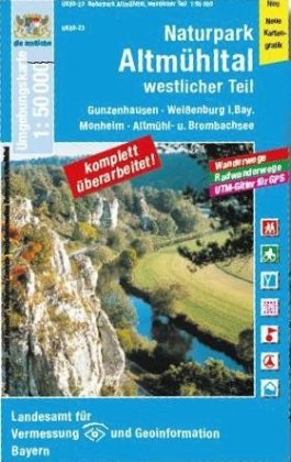 Altmuhltal West. Np 1:50.000 (uk50-23)