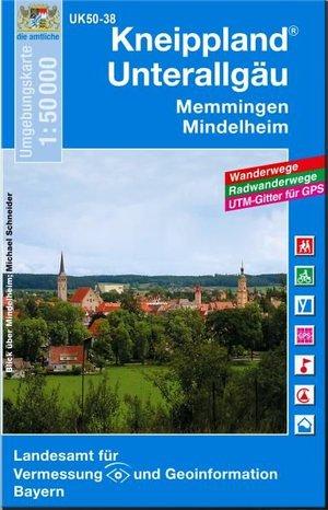 Kneippland Unterallgau 1:50.000 Uk50-38