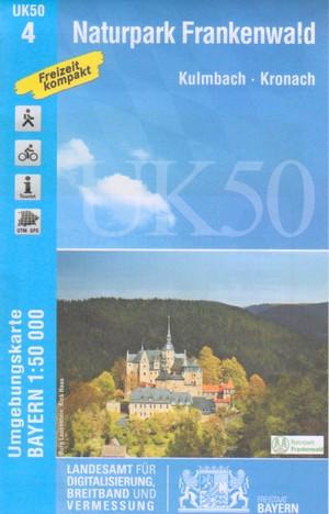 Np Frankenwald 1:50.000 Uk 50-04 Lva