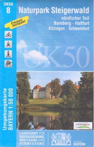 Steigerwald Nordl. Np 1:50.000 Uk50-8