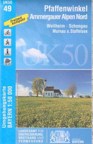 Pfaffenwinkel Ammergauer Alpen N.uk50-49