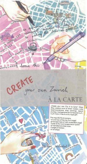 A La Carte Zurich Create Your Map
