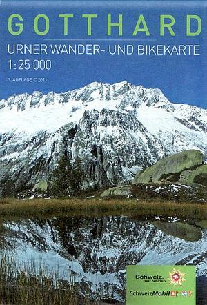 Gotthard 1:25.000 Urner Wandel Fietskaart