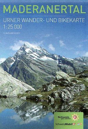 Maderanertal 1:25.000 Urner Wandel Fietskaart