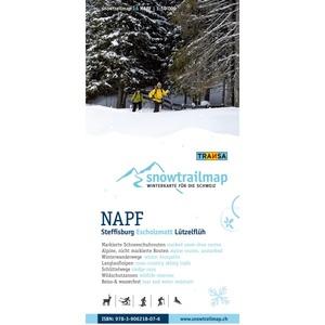 Snowtrailmap 18 Napf 1:50.000
