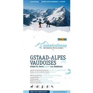 Snowtrailmap 24 Gstaad Alpes Vaudoises