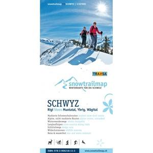 Snowtrail Map 11 Schwyz 1:50.000