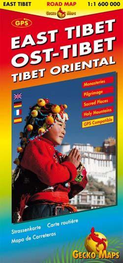 Tibet East 1:600d Gecko