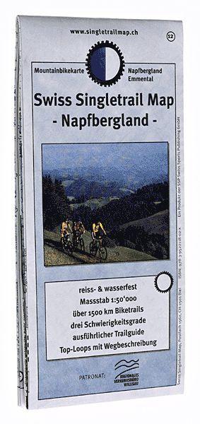 Singletrail Map 12 Napfbergland 1:50.000