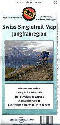 Singletrail Map 32 Jungfrau 1:50.000