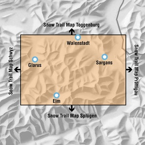 Snowtrail Map 07 Glarus-heidiland 1:50.000