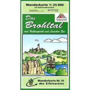 Ev10 Brohltal 1:25.000