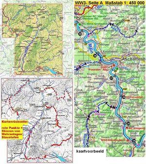Wassersport-wanderkarte 3 Sudwest Ww3