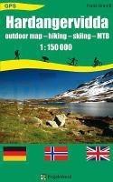 Hardangervidda 1:150.000