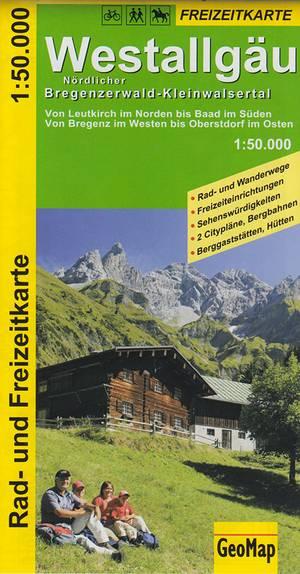 Westallgau 1:50.000 Geomap