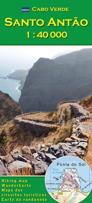 Cabo Verde: Santo Antao 1:40.000 wandelkaart