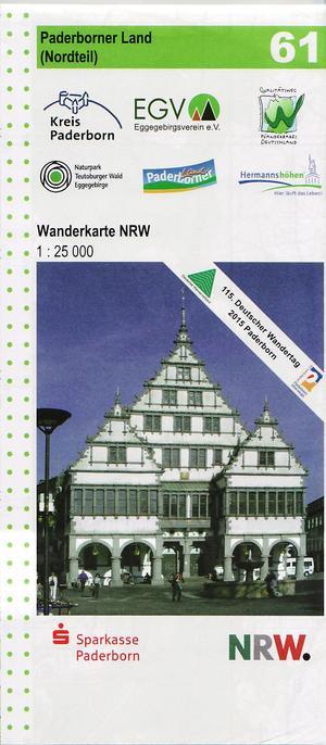 61 Paderborner Land Nord 1:25 Geomap Nrw