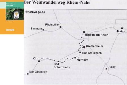 Weinwanderweg Rhein - Nahe