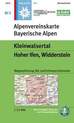Kleinwalsertal, Hoher Ifen, Wilderstein BY02 weg+ski