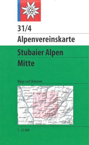 AV 31/4 Stubaier Alpen Mitte (weg+ski)