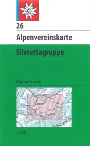 AV 26 Silvrettagruppe (weg + ski)