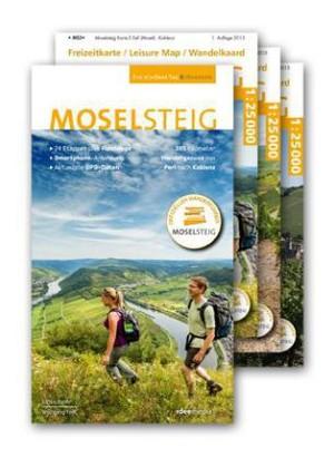 Ein Schöner Tag Wandern: Moselsteig Wanderführer met 3 Kaarten